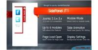 Panel side jt1 joomla for module