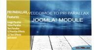 Parallax pri joomla module
