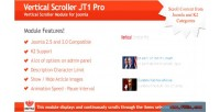 Scroller vertical jt1 joomla pro for module