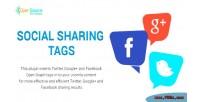 Sharing social tags