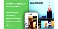 Accordion horizontal slider extensions joomla responsive