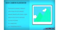 Camera geek slideshow module