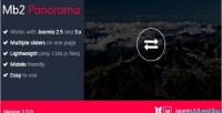 Panorama mb2 module slider joomla