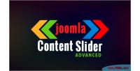 Slider content joomla for advanced