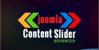 Slider content joomla for advanced