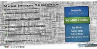 Mega slideshow premium image joomla for slider