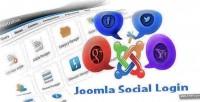 Social joomla login