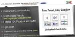 Content article locker plugin joomla social