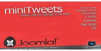 For minitweets joomla data twitter embed