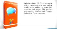 Social eq comments