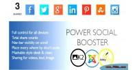 Social power joomla for booster