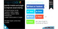Socials open graph & social sharing joomla for socials