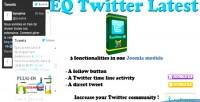 Twitter eq latest