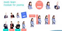 Team zweb joomla for module