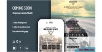 Coming soon offline page plugin jooma responsive