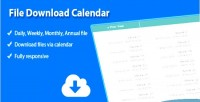Download file joomla for calendar