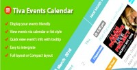 Events tiva joomla for calendar