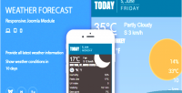 Forecast weather extension joomla responsive