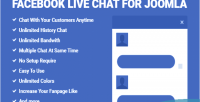 Live facebook joomla for chat