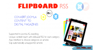 Rss flipboard feed joomla for generator