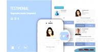 Showcase testimonial extension joomla responsive