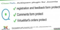 Spam cleantalk. protect joomla for plugin