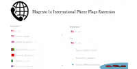 1x magento international extension flags phone