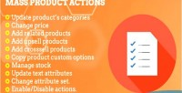 2 magento actions product mass