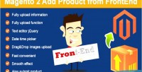 2 magento add frontend from product