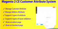 2 magento ce system attribute customer