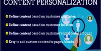 2 magento content personalization