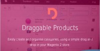 2 magento draggable products