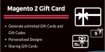 2 magento extension card gift