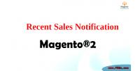2 magento notification sales recent