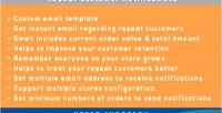 2 magento notifications customer repeat