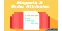 2 magento order attributes