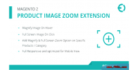 2 magento product image extension zoom magnify click hover on