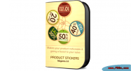 2 magento product stickers
