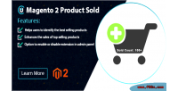 2 magento products extension sold count sales show