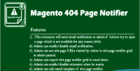 404 magento1x page notifier