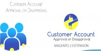 Account customer approve 2 magento disapprove