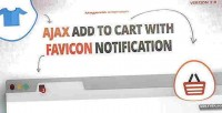 Add to cart with notification favicon amazing add