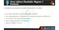 Address street placeholder