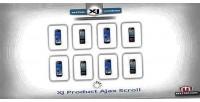 Ajax xj scroll extension
