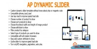 Ap the dynamicslider