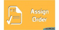 Assign magento order