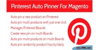 Auto pin on multi extensions magento boards auto