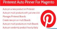 Auto pin on multi extensions magento boards auto
