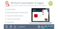 Autocomplete search & suggest