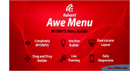 Awe menu magento mega kahanit extension menu